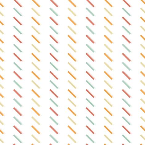 Lines Sorbet fabric by rarofabrics on Spoonflower - custom fabric