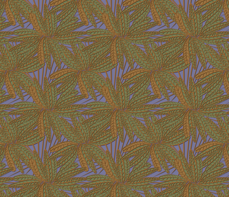 fern_feather fabric by glimmericks on Spoonflower - custom fabric