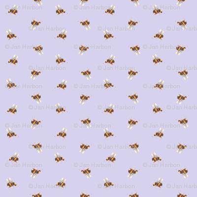Garden bees (lilac)