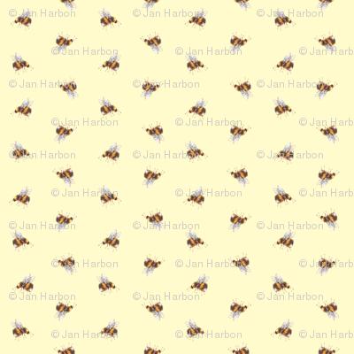 Garden bees (yellow)