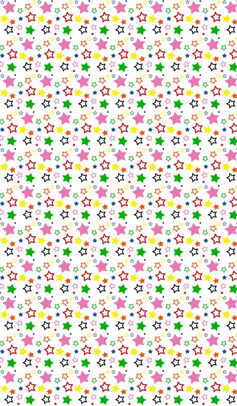 HarrietsAllStars fabric by tequila_diamonds on Spoonflower - custom fabric