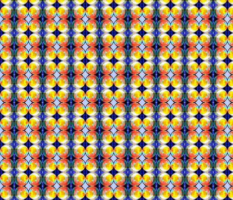 Glowing Globes fabric by robin_rice on Spoonflower - custom fabric