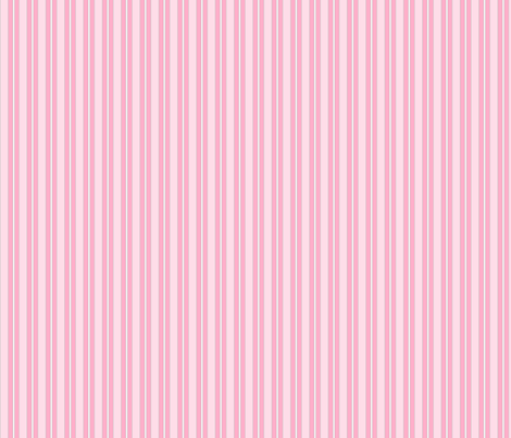 pink_stripes-ed fabric by suemc on Spoonflower - custom fabric
