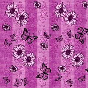 Sunflower Monarch Memories Pink
