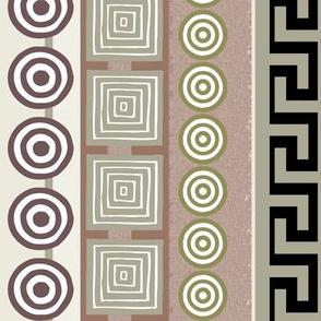 Ancient Greeks - striped