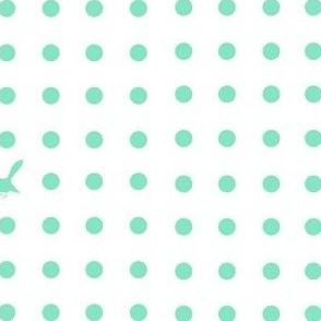 Kiwi Holiday Blue Fantail Polka