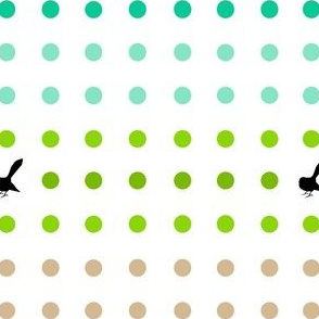 Kiwi Holiday Fantail Polka