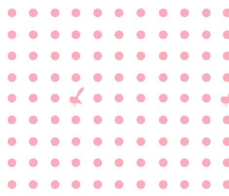 Kiwi Holiday Candy Fantail Polka fabric by pennyroyal on Spoonflower - custom fabric