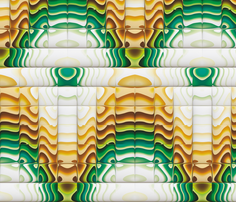 Steampunk Art Deco 3 fabric by animotaxis on Spoonflower - custom fabric