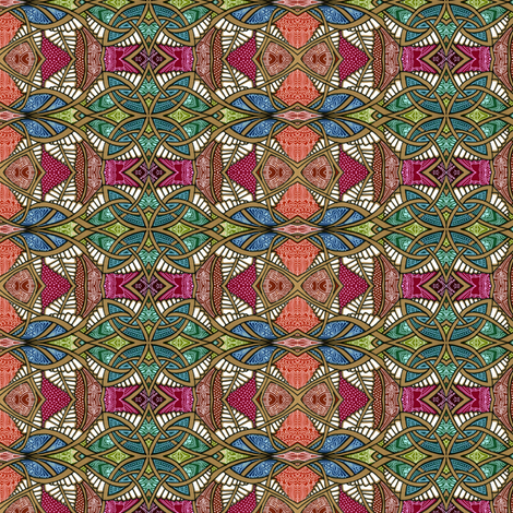 From the World of Deco fabric by edsel2084 on Spoonflower - custom fabric