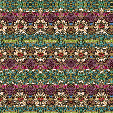 Briar Patch Hideout fabric by edsel2084 on Spoonflower - custom fabric