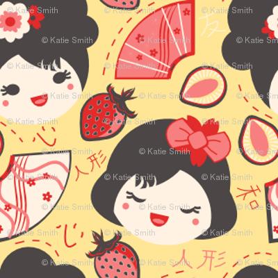 Red Berry Geisha Girls