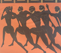 ancient Olympics orange