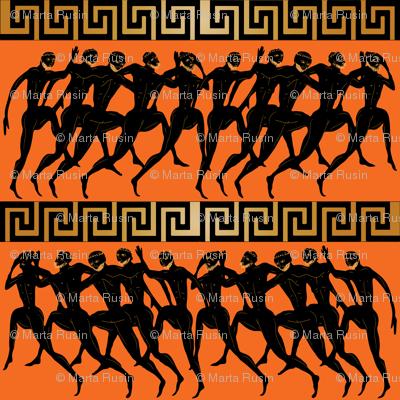 ancient Olympics orange
