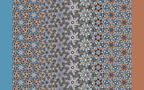 p6KaiserPeach fabric by frankfarris on Spoonflower - custom fabric