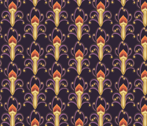 olympic_violet fabric by kirpa on Spoonflower - custom fabric