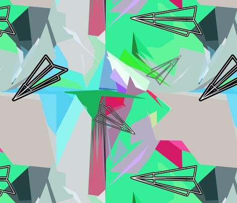 aviões3 fabric by sofiacampos on Spoonflower - custom fabric