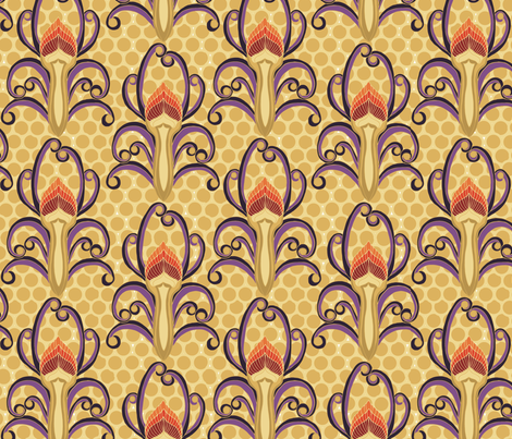 Olympic_fire fabric by kirpa on Spoonflower - custom fabric