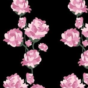 Ruusupensaat (on black)