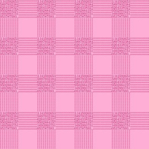 strawberry cream pi - gingham