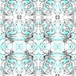 Inkblot Mermaid 1 (colour)
