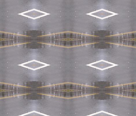 Roadway Mirage fabric by zippyartist on Spoonflower - custom fabric