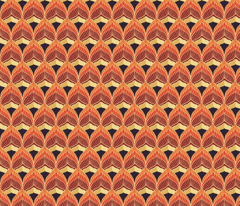 fire_violet fabric by kirpa on Spoonflower - custom fabric