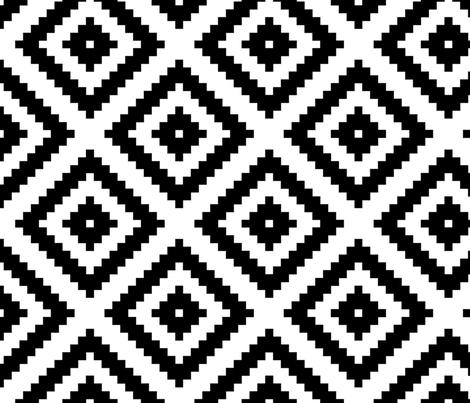 Nested Diamonds fabric by pennyfarthing on Spoonflower - custom fabric