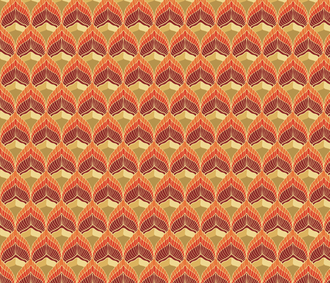 fire_gold fabric by kirpa on Spoonflower - custom fabric