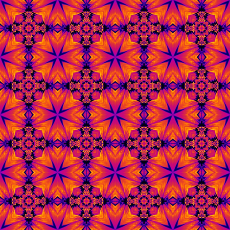 Daisy Dance 1 - Flower Power fabric by dovetail_designs on Spoonflower - custom fabric