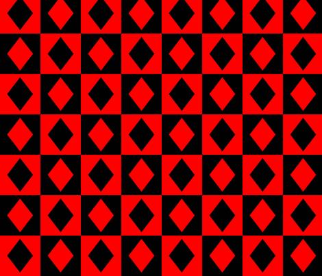 Harley Quinn fabric by darwinwhispers on Spoonflower - custom fabric