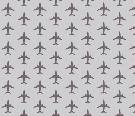 light_grey_dark_planes fabric by mysticalarts on Spoonflower - custom fabric