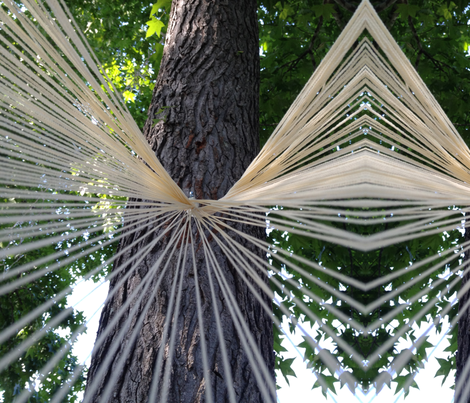 strings fabric by snickerslynn on Spoonflower - custom fabric