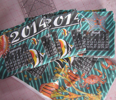 2014 Tea Towel Calender