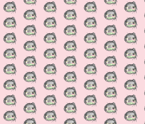 """Sweet Dreams"" fabric by evelynrosedesigns on Spoonflower - custom fabric"