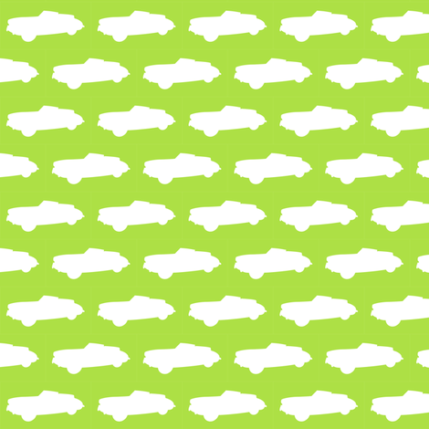 Lime Flavoured Automobile fabric by smuk on Spoonflower - custom fabric
