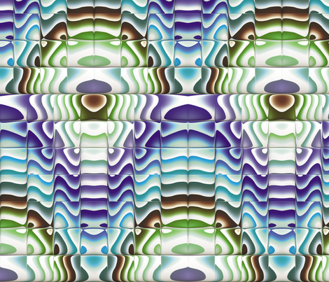 Steampunk Art Deco 10 fabric by animotaxis on Spoonflower - custom fabric