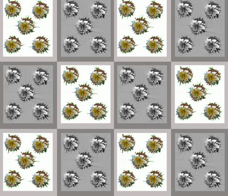Lilies_20B fabric by oceanpeg on Spoonflower - custom fabric