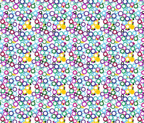 Ring Toss fabric by aftermyart on Spoonflower - custom fabric