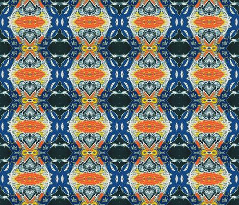 Royal Flush, Swedish Grandfather Clock fabric by susaninparis on Spoonflower - custom fabric