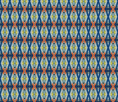 Royal Flush with Beeswax, small fabric by susaninparis on Spoonflower - custom fabric