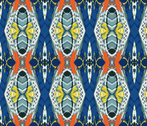 Royal Flush with Beeswax, large fabric by susaninparis on Spoonflower - custom fabric