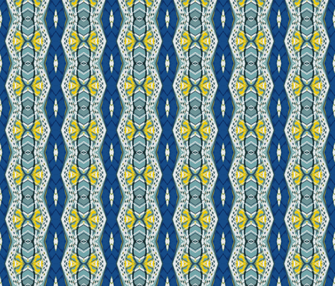 Royal Flush Vertical Challenge 3 fabric by susaninparis on Spoonflower - custom fabric