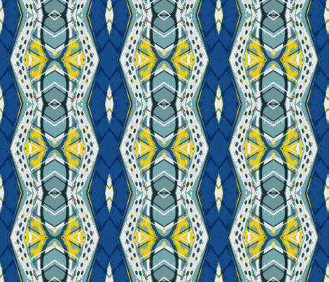 Royal Flush Vertical Challenge 2 fabric by susaninparis on Spoonflower - custom fabric