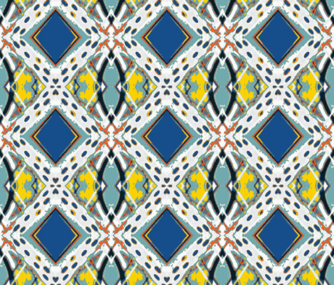 Royal Flush-large fabric by susaninparis on Spoonflower - custom fabric
