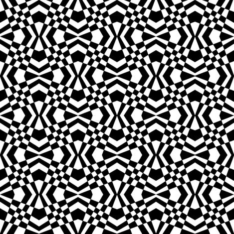 FibDesign-b_w fabric by j__troy on Spoonflower - custom fabric