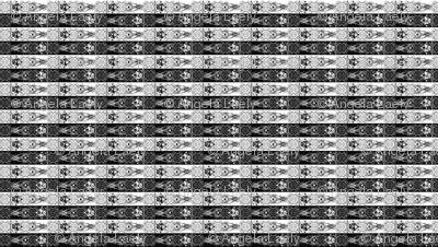 Nightmare Stripes - Black/white