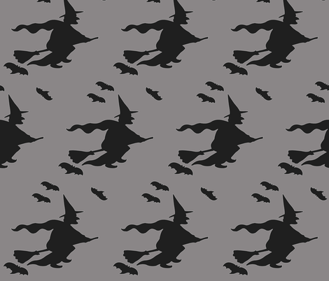 halloween fabric by isabella_asratyan on Spoonflower - custom fabric