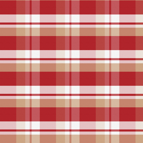 Anne's Plaid fabric by peacoquettedesigns on Spoonflower - custom fabric