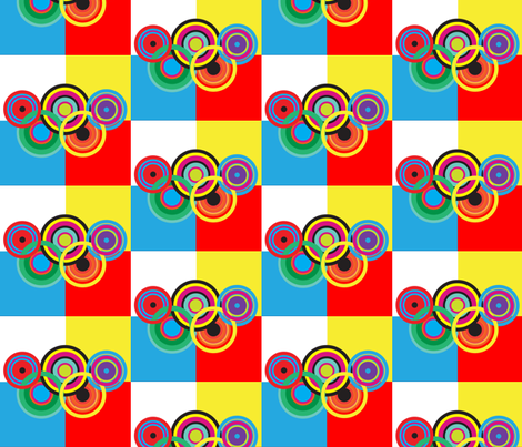 olympic celebration fabric by isabella_asratyan on Spoonflower - custom fabric